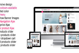 免费自适应Magento模板-Women Store