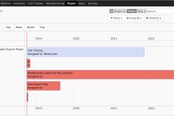 Odoo 11 & Odoo 12 甘特图(Gantt)替代方案-Web timeline
