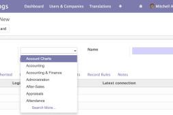Odoo 12 开发之创建第一个 Odoo 应用