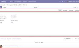 Odoo 12开发之后台视图 – 设计用户界面