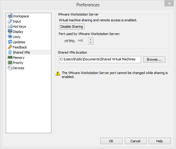 VMware修改端口