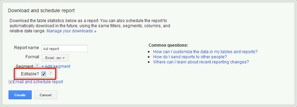 Adwords报告下载
