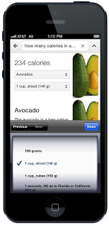 谷歌手机营养信息搜索2