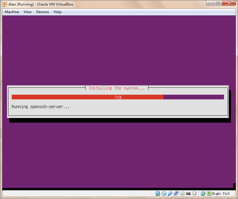 VirtualBox Linus系统安装