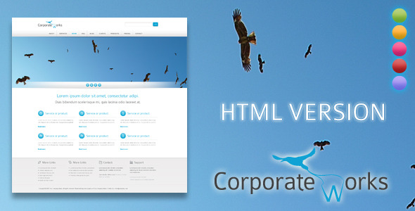 内容展示模板-Corporate works