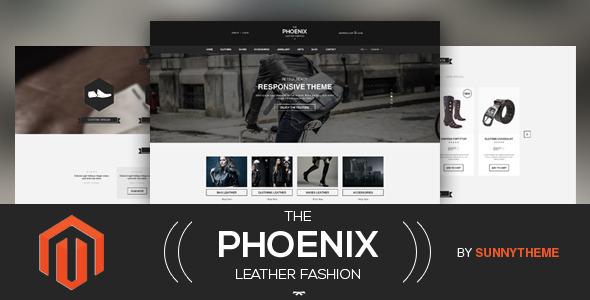 The Phoenix Magento免费Responsive主题