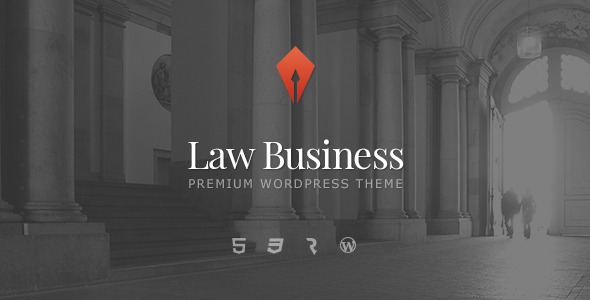 Wordpress主题Law Business