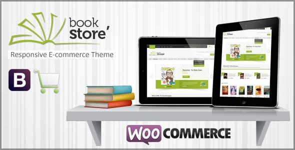 Wordpress主题 Book Store