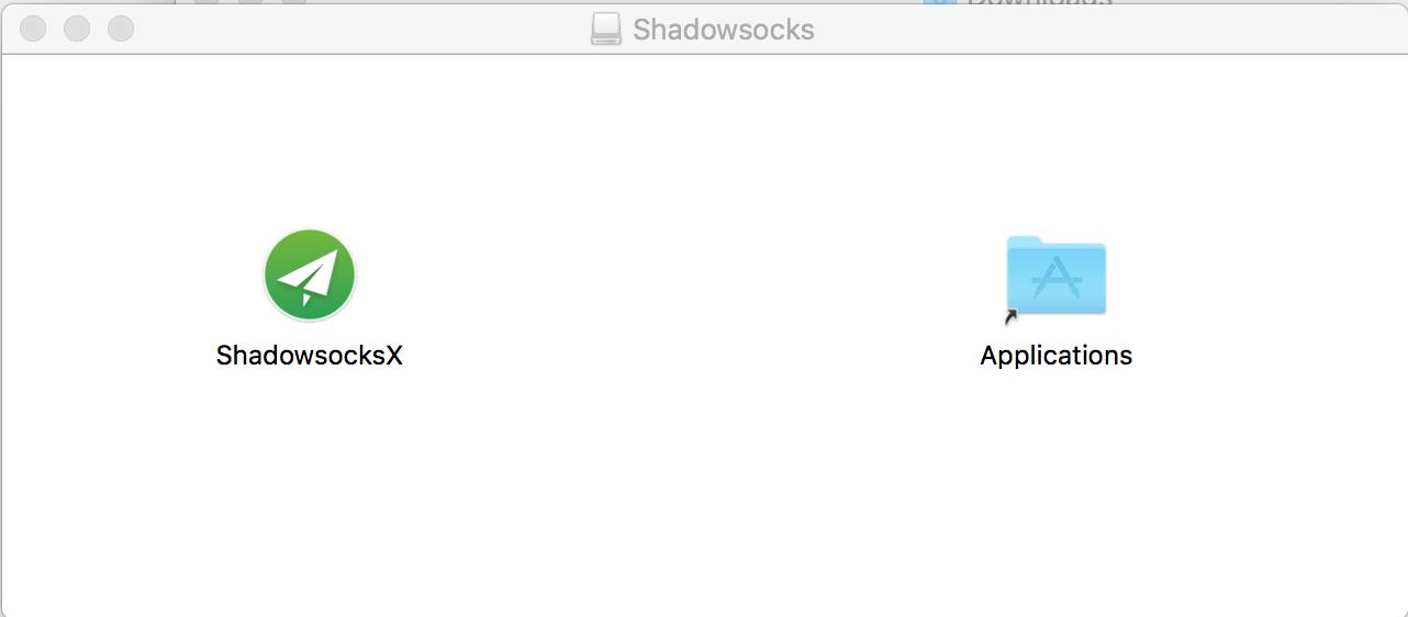 Mac系统上安装Shadowsocks