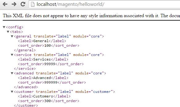 Magento开发系列之八 后台配置开发