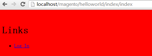 添加登录链接
