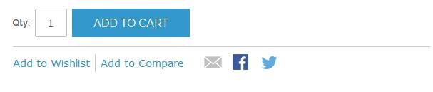 Magento rwd社交分享按钮