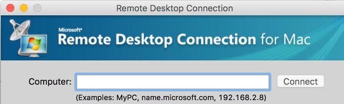 Mac远程Windows机器