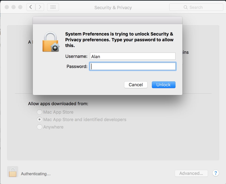 Mac OS系统偏好设置