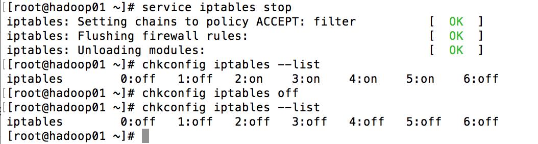 Linux iptables关闭方法