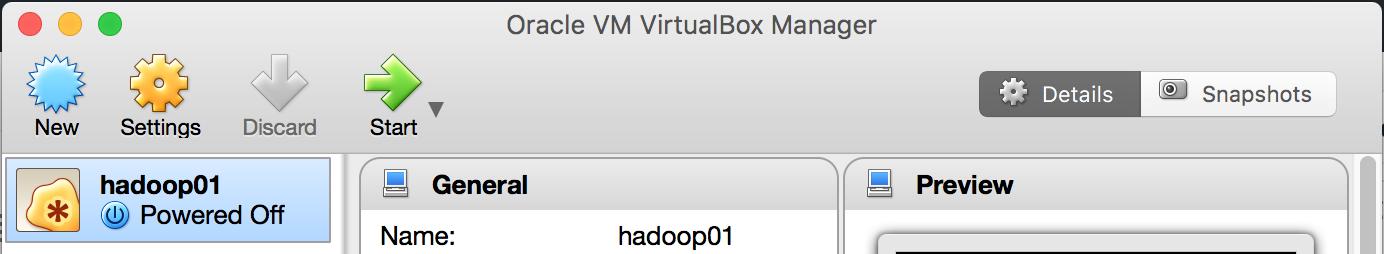 hadoop01虚拟机
