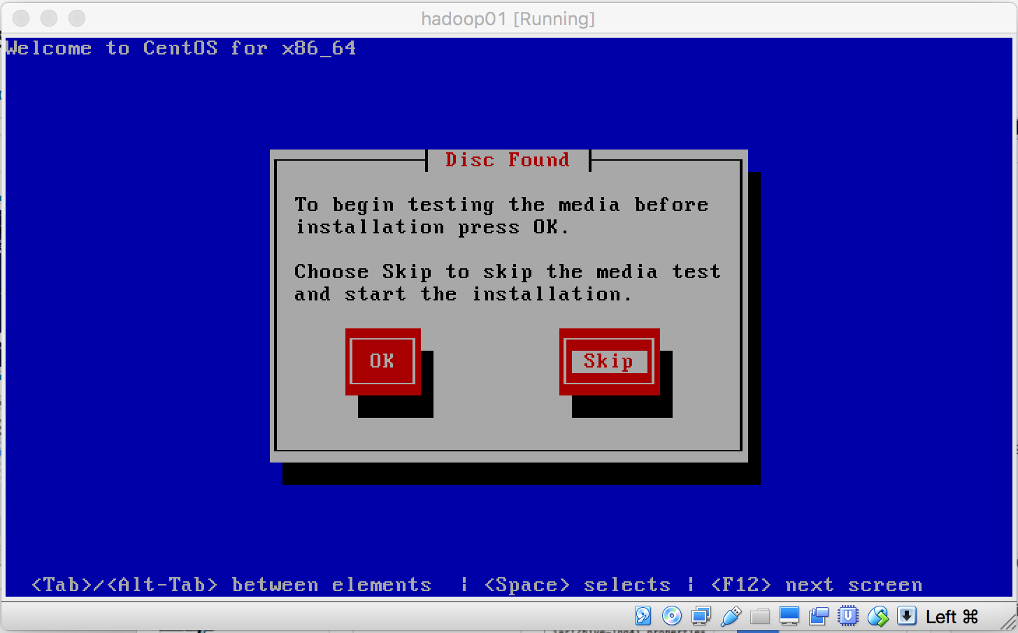 CentOS安装Media Test
