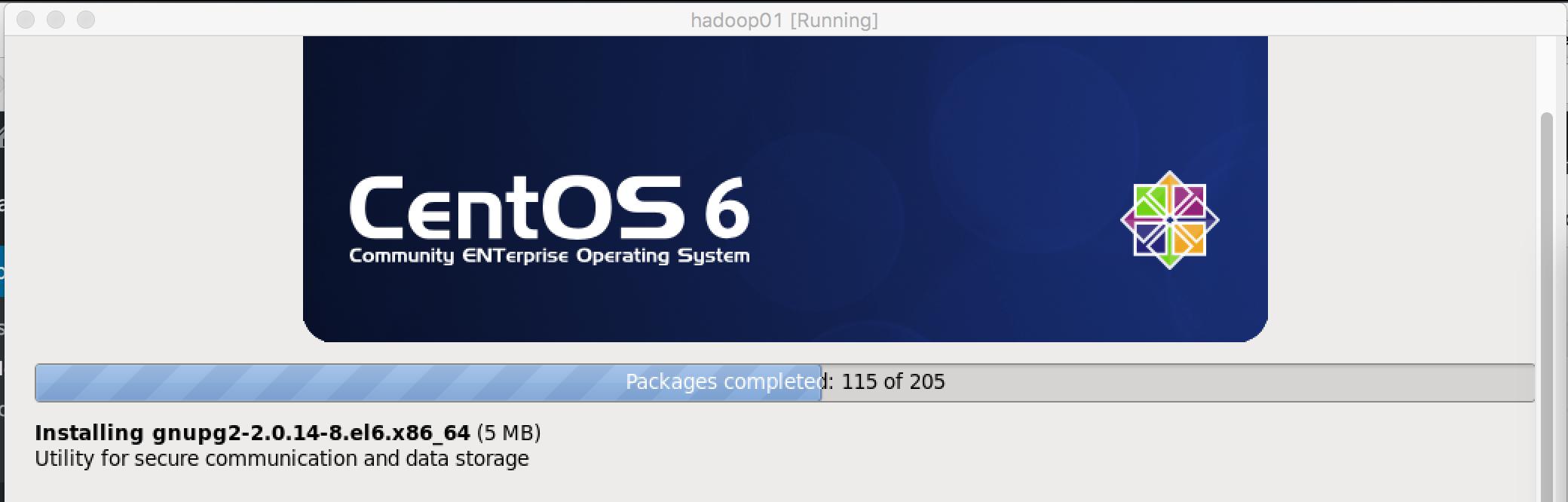 CentOS安装进程