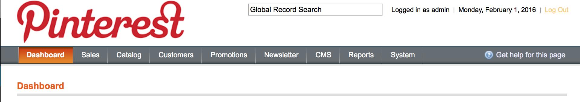 Magento中如何自定义后台登录页面