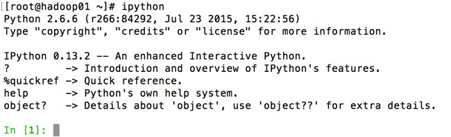 验证IPython的安装