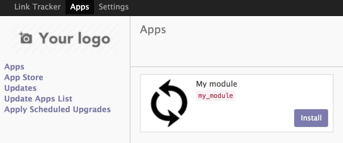 搜索新创建插件My module