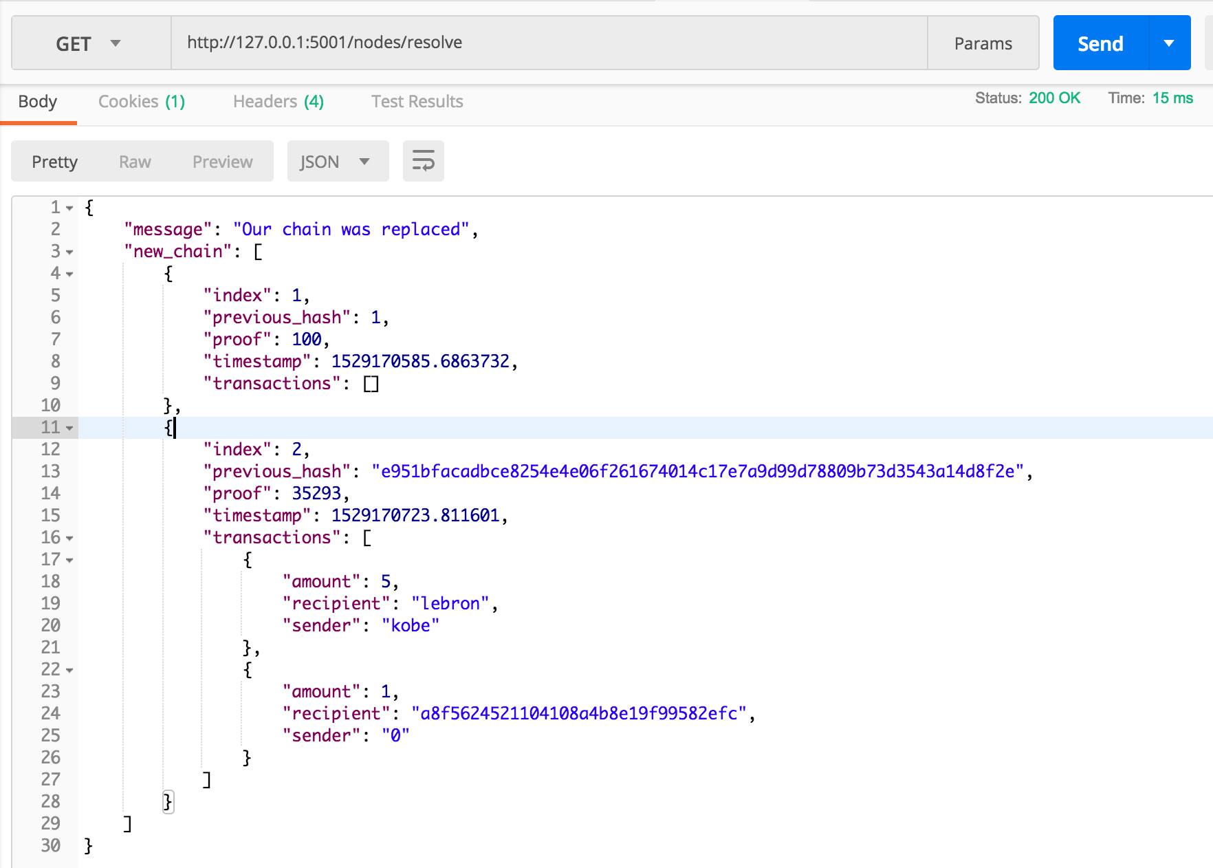 区块链入门学习及Python代码实现