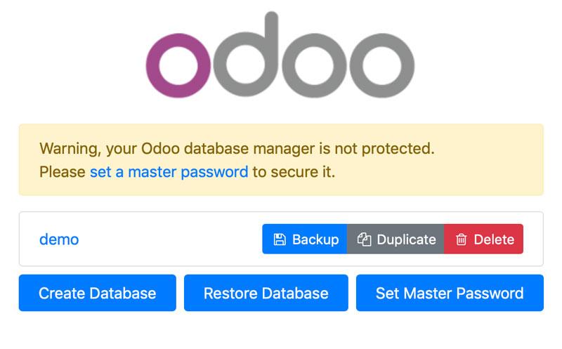 使用开发者模式快速入门 Odoo 12