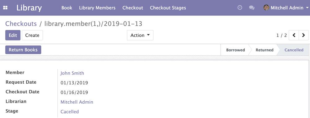 Odoo 12开发之后台视图 - 设计用户界面