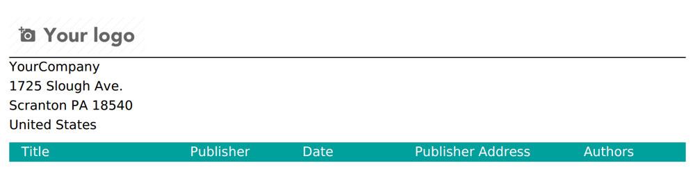 Odoo 12开发之报表和服务端 QWeb