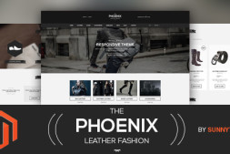 Magento免费Responsive模板-The Phoenix