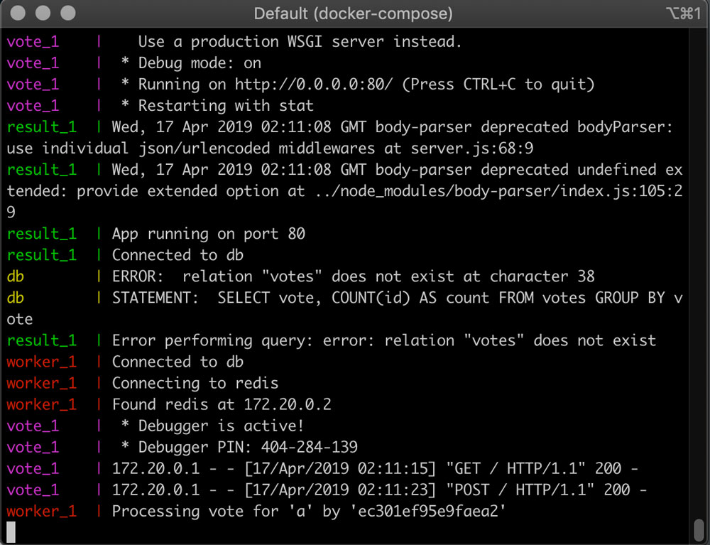精通Docker第三版 – 第五章 Docker Compose