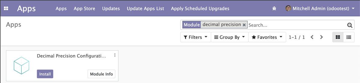 Odoo 12开发者指南第五章 应用模型