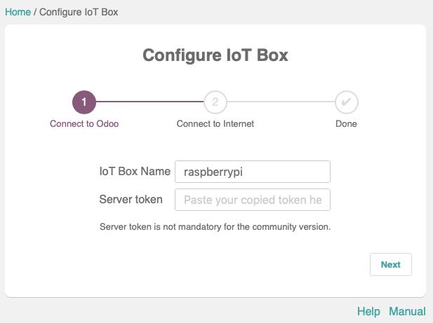 Odoo 12开发者指南第二十四章 IoT盒子
