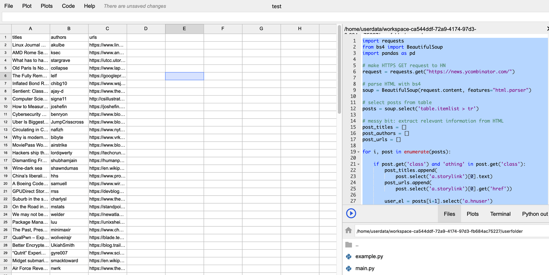 Python集成Excel的神器Grid Studio