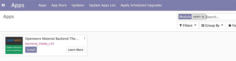 Odoo 13开发者指南第二章 管理Odoo服务器实例