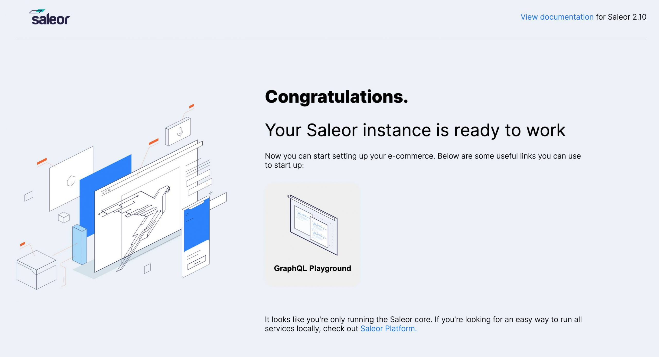 Django电商平台Saleor搭建初体验