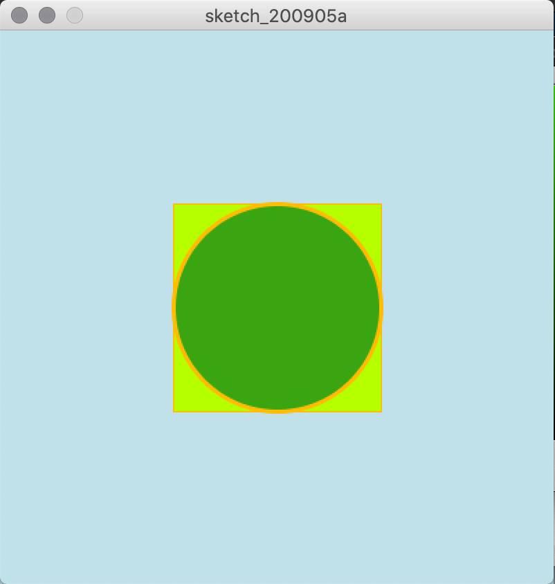 从零开始学习 Processing – 圆形、矩形和面向对象