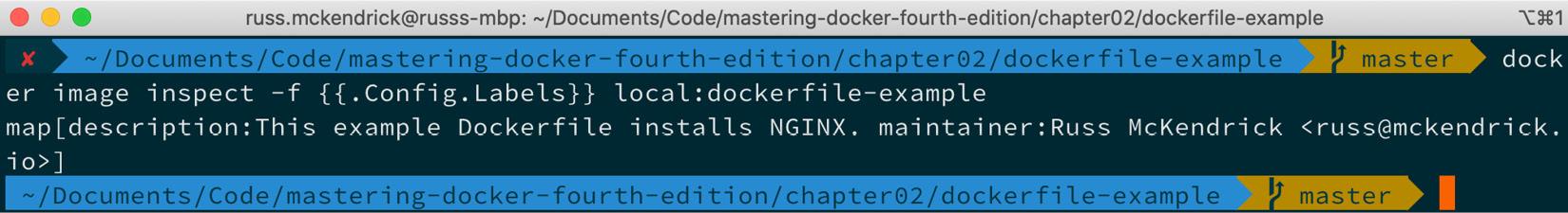 精通Docker第四版 – 第二章 创建容器镜像